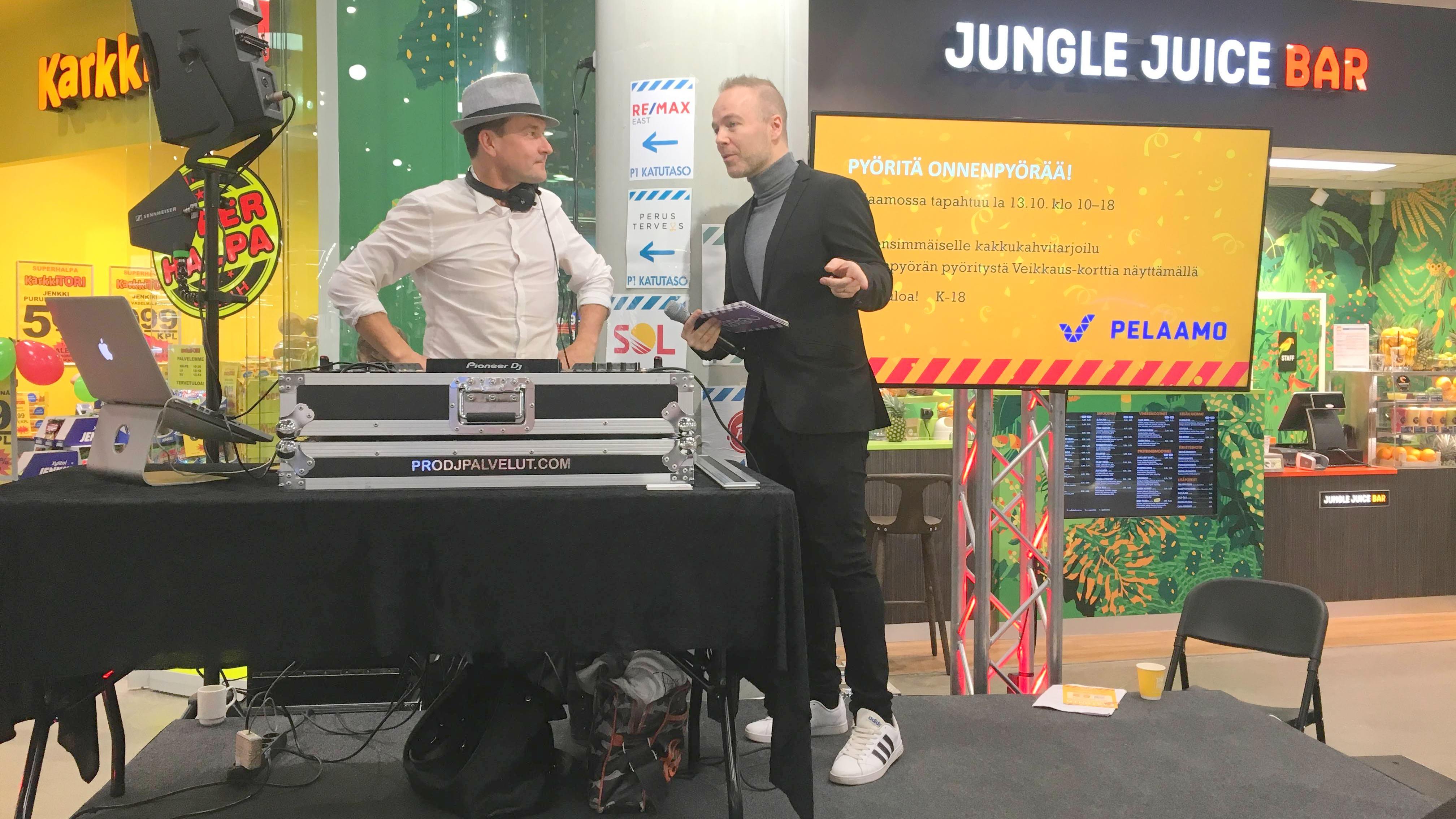 Kauppakeskus Easton DJ